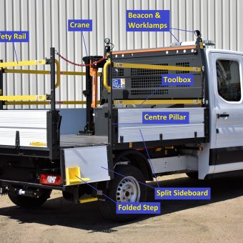 Ford OSS Tipper 1-Way with options- VFS Ltd 2