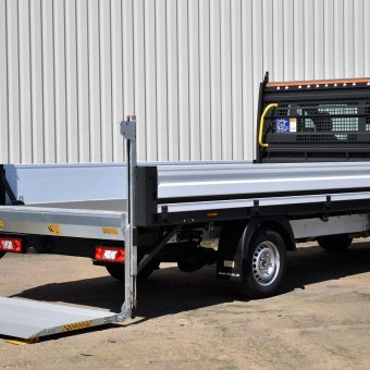 Rear Ford OSS Dropside with Tail-lift 1- VFS Ltd