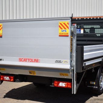 Rear Ford OSS Dropside with Tail-lift 2- VFS Ltd