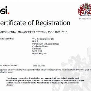 VFS ISO14001
